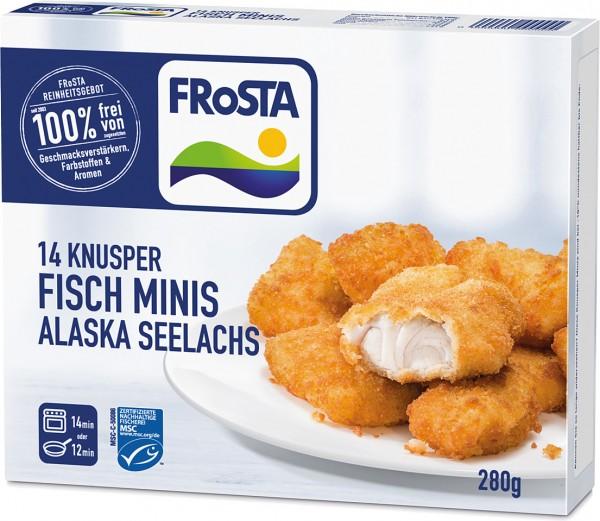 FRoSTA Alaska Seelachs Knusper Minis (280g Packung)