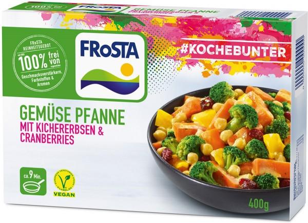 FRoSTA Gemüse Pfanne mit Kichererbsen Packshot