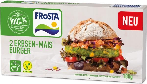 FRoSTA Gemüseburger: Süßkartoffel Paprika (2 Stück)