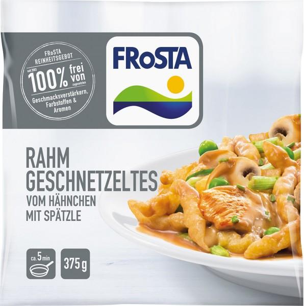 FRoSTA Rahm Geschnetzeltes vom Hähnchen mit Spätzle (375g)