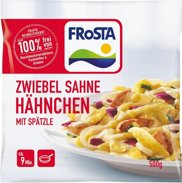 FRoSTA Zwiebel Sahne Hähnchen mit Spätzle (500g)