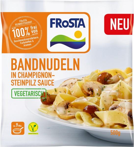 FRoSTA Bandnudeln In Champignon-Steinpilz Sauce 500g
