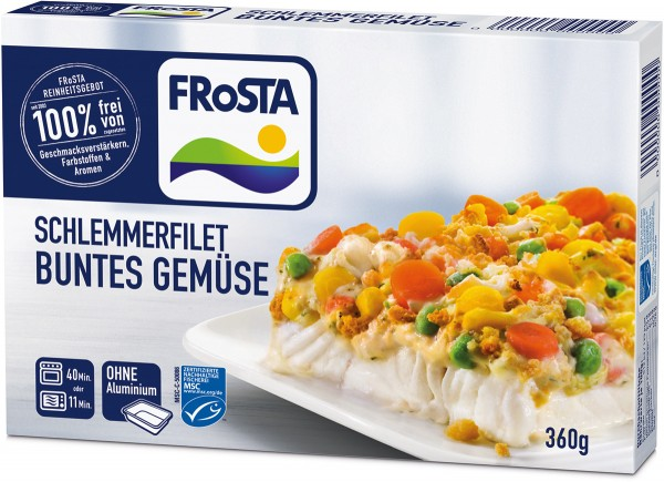 FRoSTA Schlemmerfilet Butter Gemüse (360g)