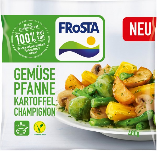 Gemüse Pfanne Kartoffel Champion 480g