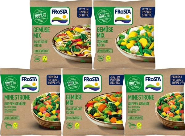 FRoSTA Gemüse Probier-Paket Packshot