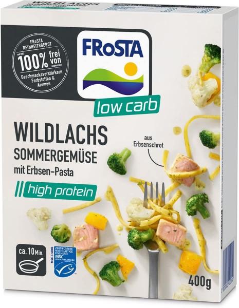 FRoSTA Wildlachs Sommergemüse mit Erbsen-Pasta (400g)