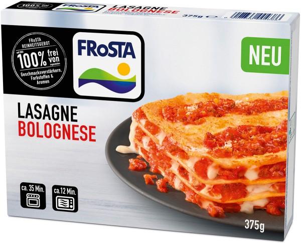 FRoSTA - Lasagne Bolognese - 375g Packshot