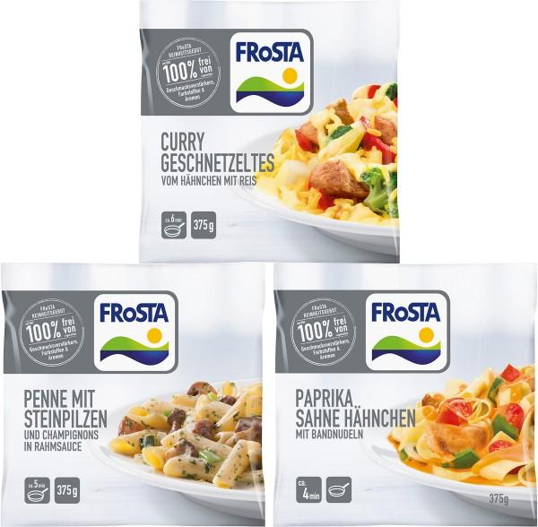FRoSTA Paket 3 kleine Mahlzeiten
