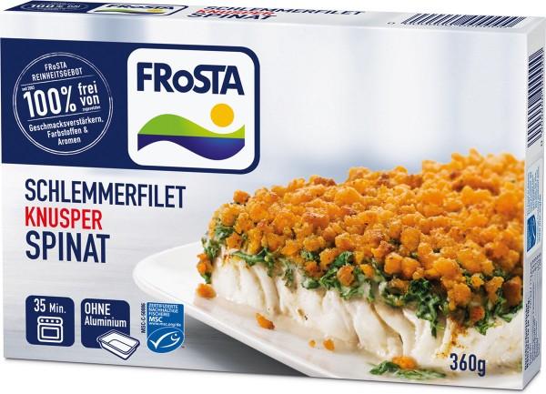 FRoSTA Schlemmerfilet Knusper Spinat (360g)