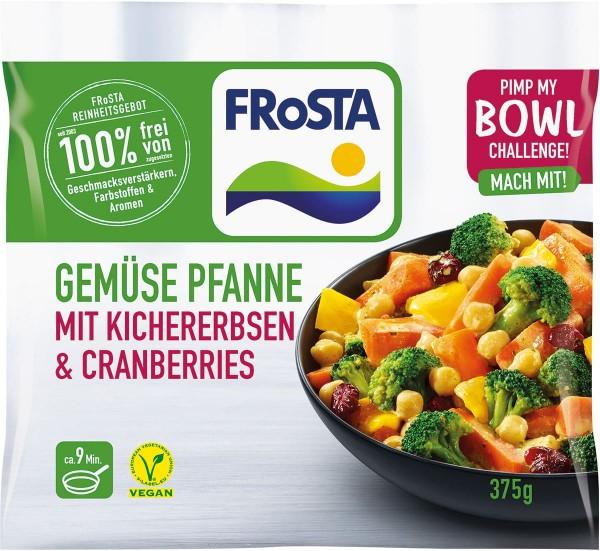 Gemüse Pfanne mit Kichererbsen & Cranberries (375g)
