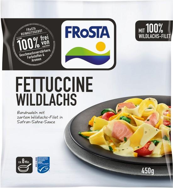 FRoSTA Fettuccine Wildlachs in Safran Sahne Sauce (450g)