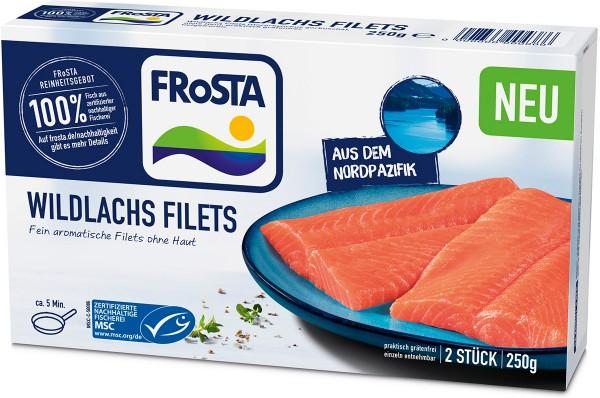 FRoSTA Wildlachs Filets 250g Packshot