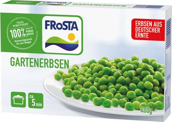 FRoSTA Gartenerbsen 400g