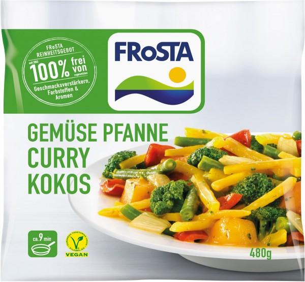 Gemüse Pfanne Curry Kokos 480g