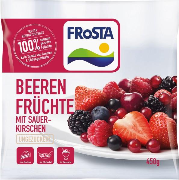 FRoSTA - Beeren Früchte mit Sauerkirschen - 450g