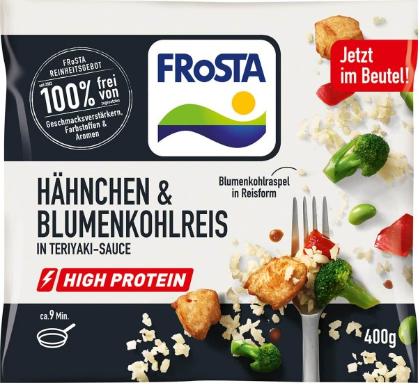 FRoSTA Hähnchen & Blumenkohlreis In Teriyaki-Sauce 400g
