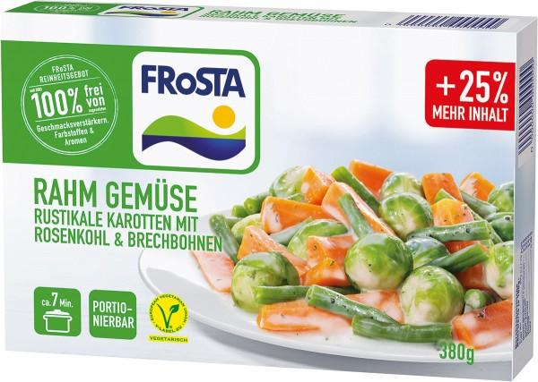 FRoSTA Rahm Gemüse Rosenkohl & Karotten (380g)
