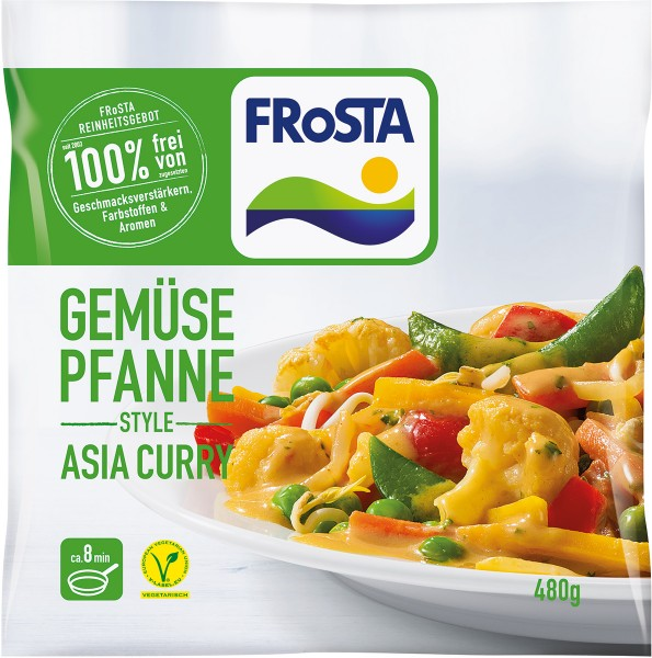 FRoSTA Gemüse Pfanne Style Asia Curry - 480g