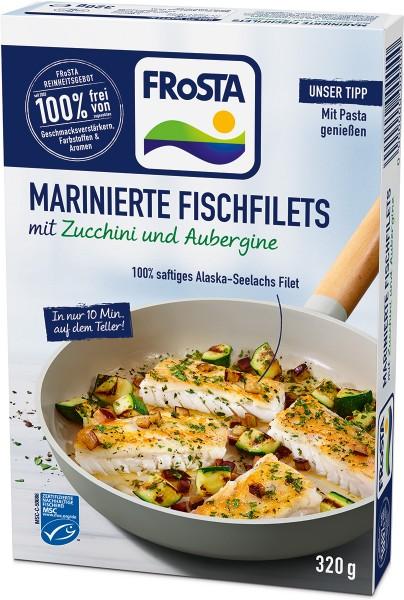 FRoSTA Marinierte Fischfilets mit Zucchini und Aubergine - Packshot