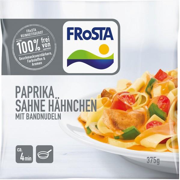FRoSTA Paprika Sahne Hähnchen mit Bandnudeln (375g)
