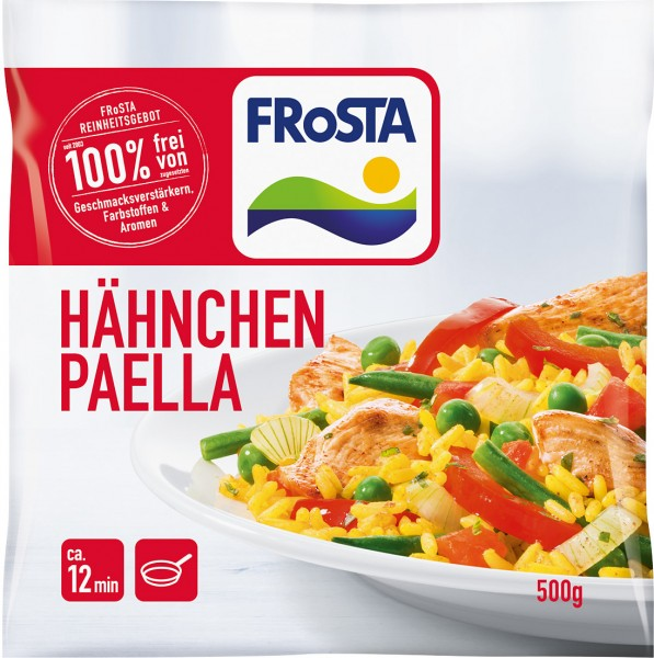 Hähnchen Paella von FRoSTA (500g)