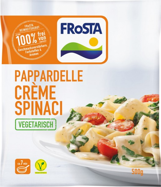 FRoSTA Pappardelle Crème Spinaci (500g)