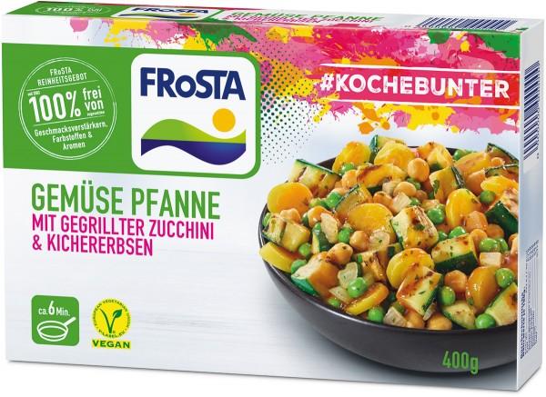 FRoSTA Gemüse Pfanne mit Zucchini & Kichererbsen (400 g)